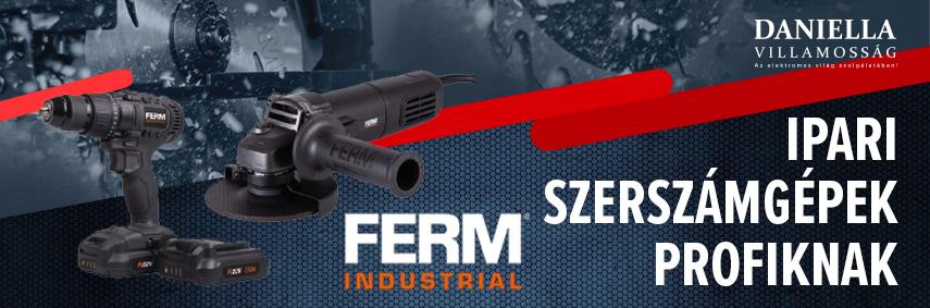 FERM Industrilal - professzonális szerszámgépek