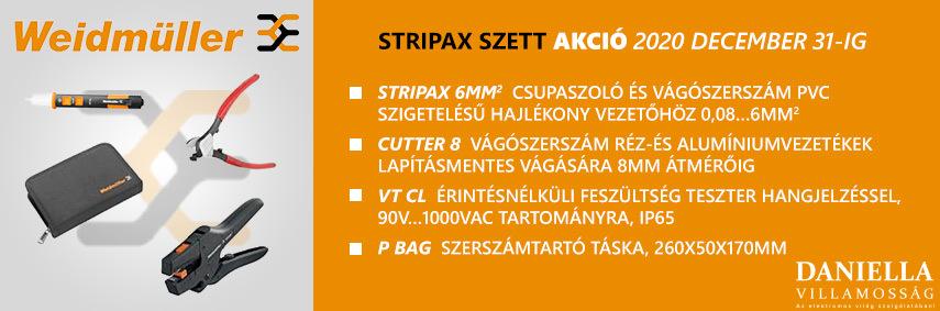 Weidmüller Stripax villanyszerelő szerszámszett